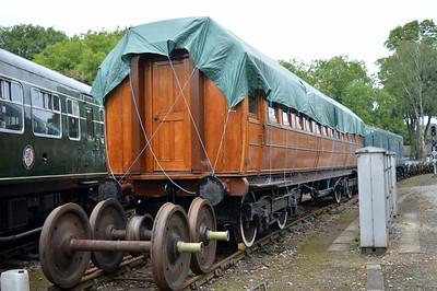 MK1 BSO NE 9225 at Pickering shed.