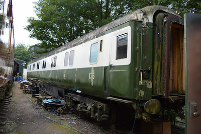 MK3 Sleeper 175 (10591) at Pickering Shed.