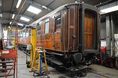 LNER Gresley Open 56856 inside Pickering Shed.