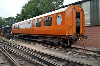 LNER Thompson TK 1623 at Pickering shed.