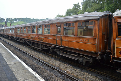 LNER Gresley Buffet 641 at Grosmont Station.