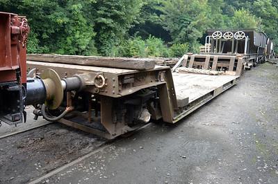 20t 4w Trolley Flat Loriot DB998014 at Newbridge P-Way Depot.