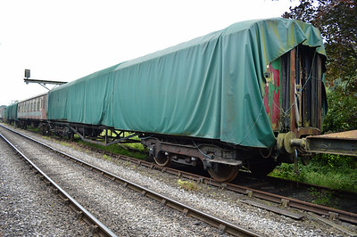 LNER Gresley Open 43632 at the siding between Pickering and Newbridge Yd.
