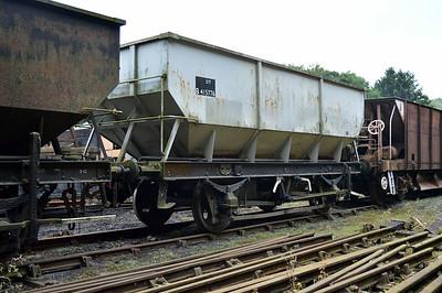 21t Steel Coal Hopper B415776 at Newbridge P-Way Depot.