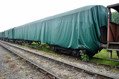 LNER Gresley Corridor 23896 at the siding between Pickering and Newbridge Yd.