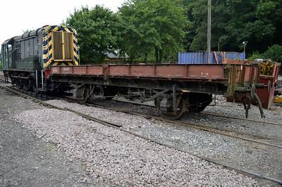 22t Plate Wagon B933122 at Newbridge P-Way Depot.