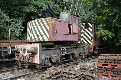 10t Crane ED 2 at Newbridge P-Way Depot.