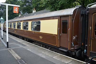 BRE Pullman 99972/318 'Robin' at Grosmont Station.