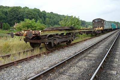 LNER Frame 096060 at the siding between Pickering and Newbridge Yd.