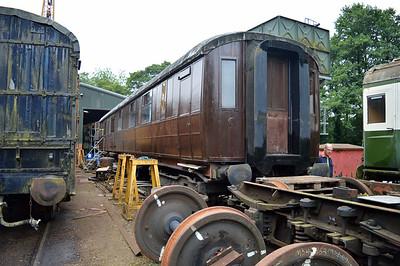 LNER Gresley RF 42969 side 2 at Pickering shed.