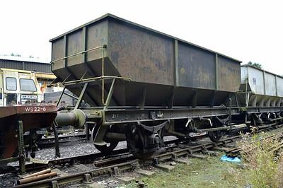 21t Steel Coal Hopper E307005 at Newbridge P-Way Depot.