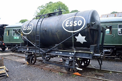 14t Esso Tank 2716 outside Pickering Shed.