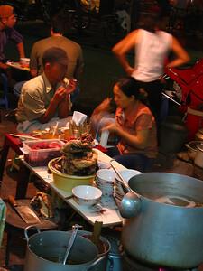 street corner restaurant.. ha noi