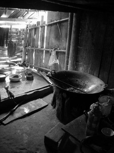 giant wok in culia's kitchen