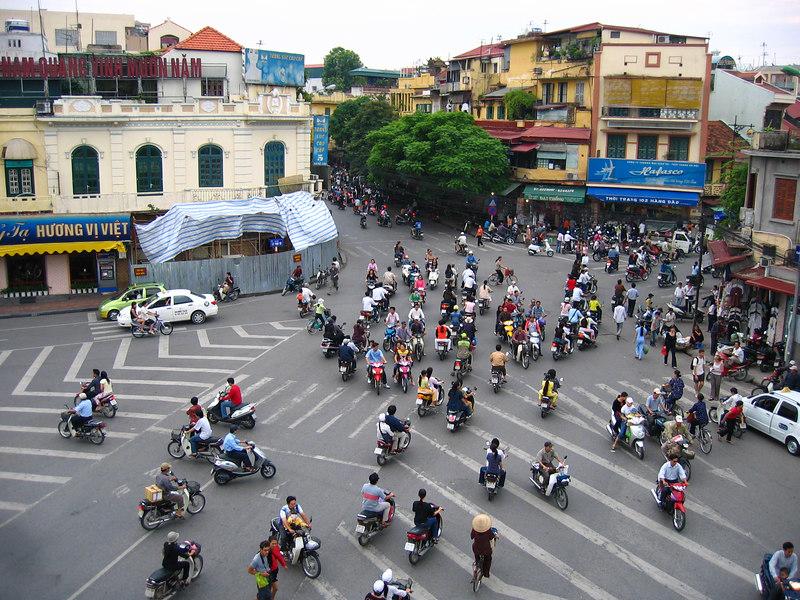 hanoi traffic