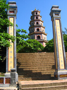 pagoda on the perfume river.. hue