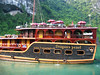 our boat in halong bay