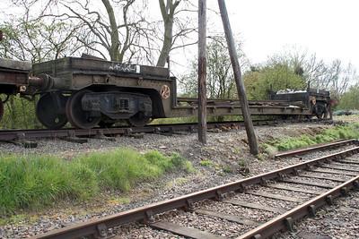 B900419 at Northampton and Lamport Railway 14/04/12