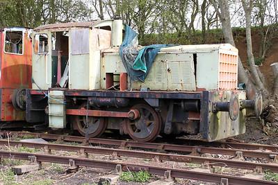 John Fowler 0-4-0DM 146C (Rebuild from 4210018) Northampton & Lamport Railway 14/04/12.