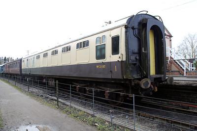 W21187 at Northampton and Lamport Railway 14/04/12