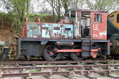 John Fowler 0-4-0DM 4210094 Northampton & Lamport Railway 14/04/12.