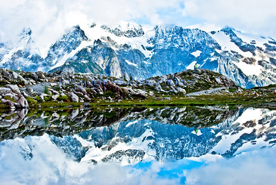 Shuksan Mirror / Glacier, Washington