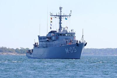 M-05 från Lettland, L x B: 50 m X 10 m