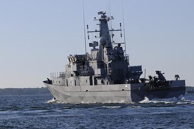 HMS Ulvön M77, Minröjningsfartyg