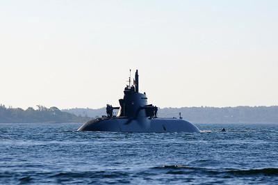 U31. U31 är 56 meter lång och 7 meter i diameter. Deplacementet är 1450 ton. Besättningen uppgår till 27 personer. Beväpningen utgörs av torpeder.