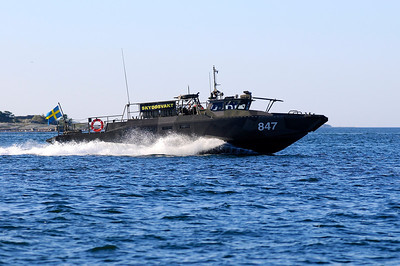 Stridsbåt 90, Skyddsvakt