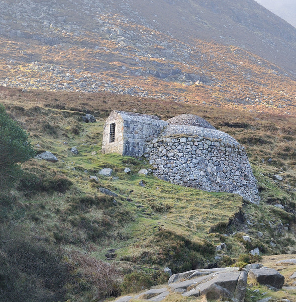 Ice house in the Glen River Valley, Mourne Mountains.