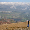 View from the summit of Slieve Donard, looking out towards Castlewellan.