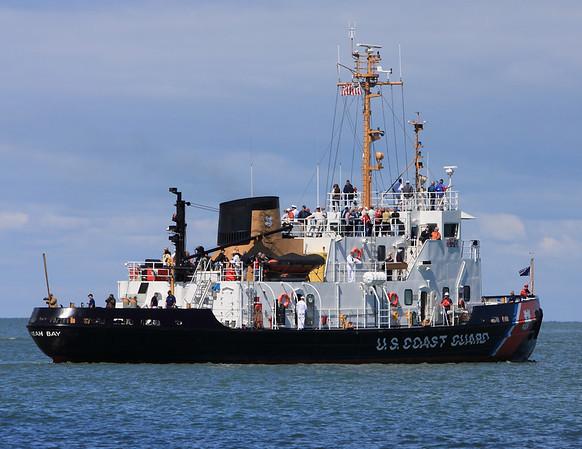 Coast Guard cutter at Puttin Bay