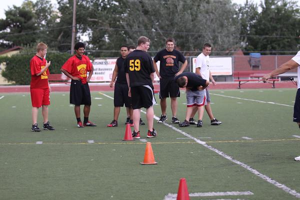 Northglenn's Football Testing August 10, 2011