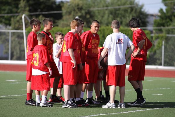Northglenn's Freshman Practice June 1, 2012