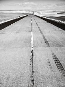 Rural road, SE Washington.