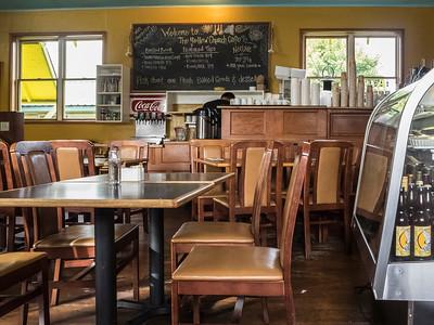 The Yellow Church Cafe, Ellensberg, Washington.
