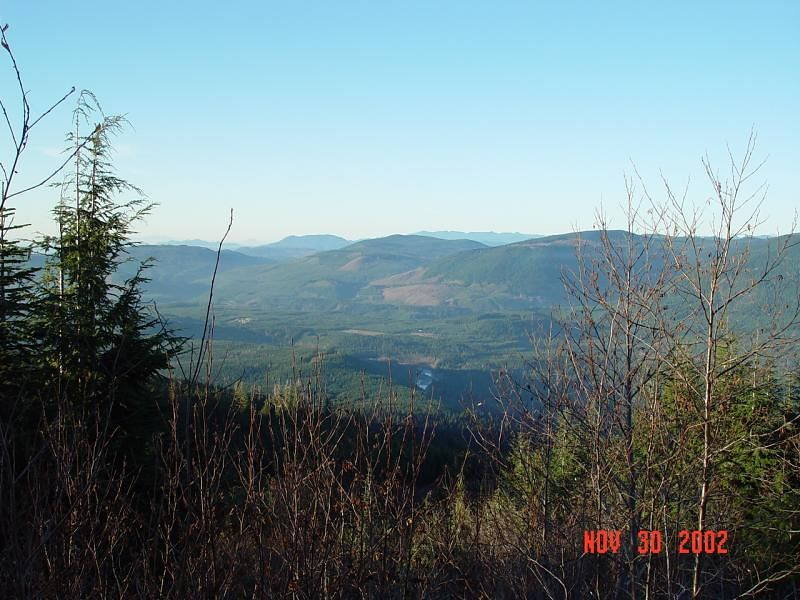 Looking north up the Pilchuck Valley