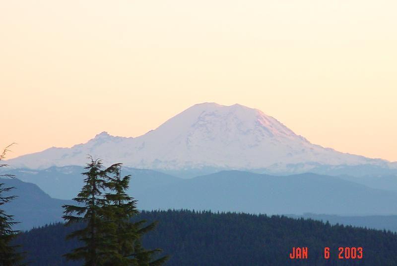 Mt. Rainer 4:10PM