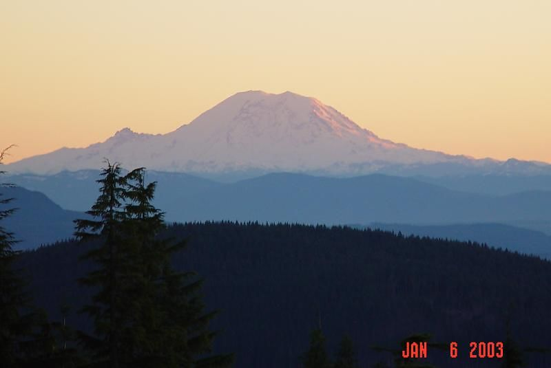 Mt. Rainer 4:15PM