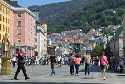 The city of Bergen
