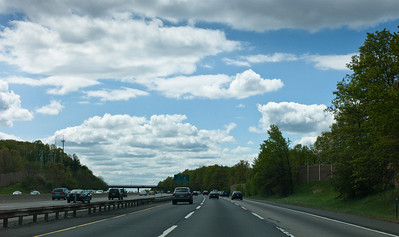 Simpsons Clouds over NJ Turnpike