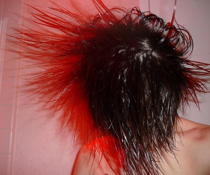 Philip's wild hair