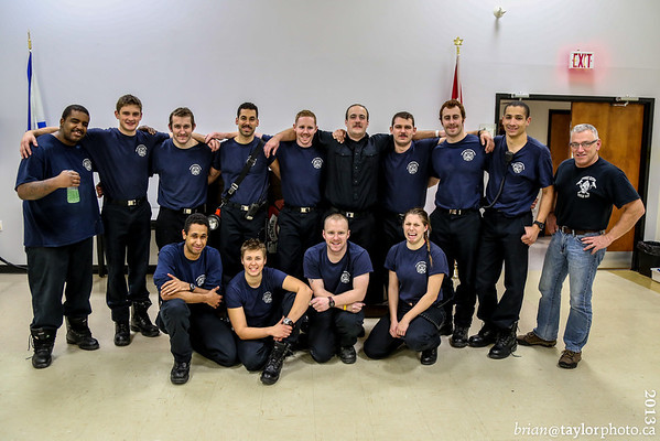 Nova Scotia Firefighters School Pre-Employment Class #22 - 24 hr Event.