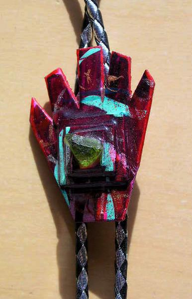 peridot hand bolo