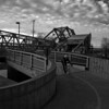 Lachine Canal lift bridge