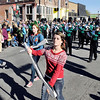 The Pendleton Heights High School Marching Arabians Played holiday music as they marched in the Christmas in Pendleton parade Saturday.