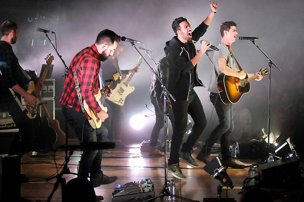 """Don Knight/The Herald Bulletin<br /> """"Passion: Let the Future Begin Tour"""" visited Anderson University on Wednesday on the final leg of a 19 date tour. The event is a worship experience geared towards young adults."""