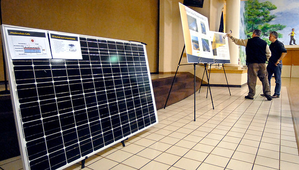 The Indiana Municipal Power Agency hosted an informational open house last Monday on their proposed solar park in Frankton. The park would include 4,000 solar panels on 8 acres of land on the south side of the town.