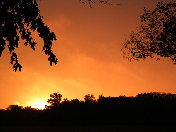 Beautiful sunset in north Anderson<br /> <br /> Photographer's Name: Rita Drews<br /> Photographer's City and State: Anderson, IN